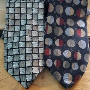 Kenneth Cole Silk Neck Ties